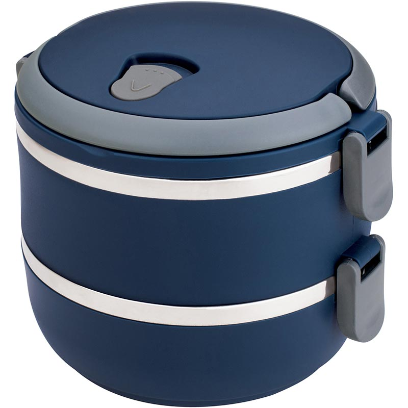 Marmita Lunch Box 1,4L - Euro Home - Azul