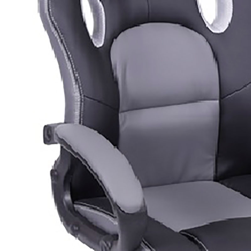 Cadeira Gamer com Rodízios 3318-Or Design - Preto